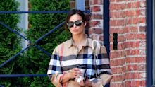 Irina Shayk Wore $2,000 Worth of Burberry With This $20 Trend