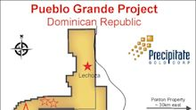 Barrick Commences Field Work Within Lithocap Zone of Precipitate's Pueblo Grande Project, Dominican Republic