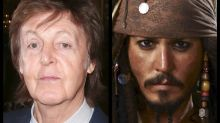 Paul McCartney Joins Johnny Depp & Crew For 'Pirates Of The Caribbean: Dead Men Tell No Tales'