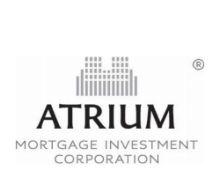 Atrium Mortgage Investment Corporation Announces July 2020 Dividend