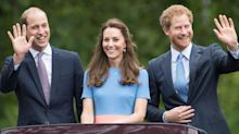 Kate Middleton and Prince William Share Hilarious Photo Of Prince Harry Running Away From Them