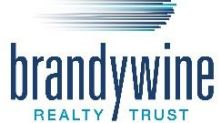 Brandywine Realty Trust Announces Second Quarter ResultsAnd Narrows 2021 Guidance