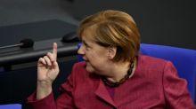 Merkel warns against 'lies, disinformation' in virus fight