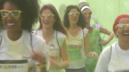 France's first Color Run