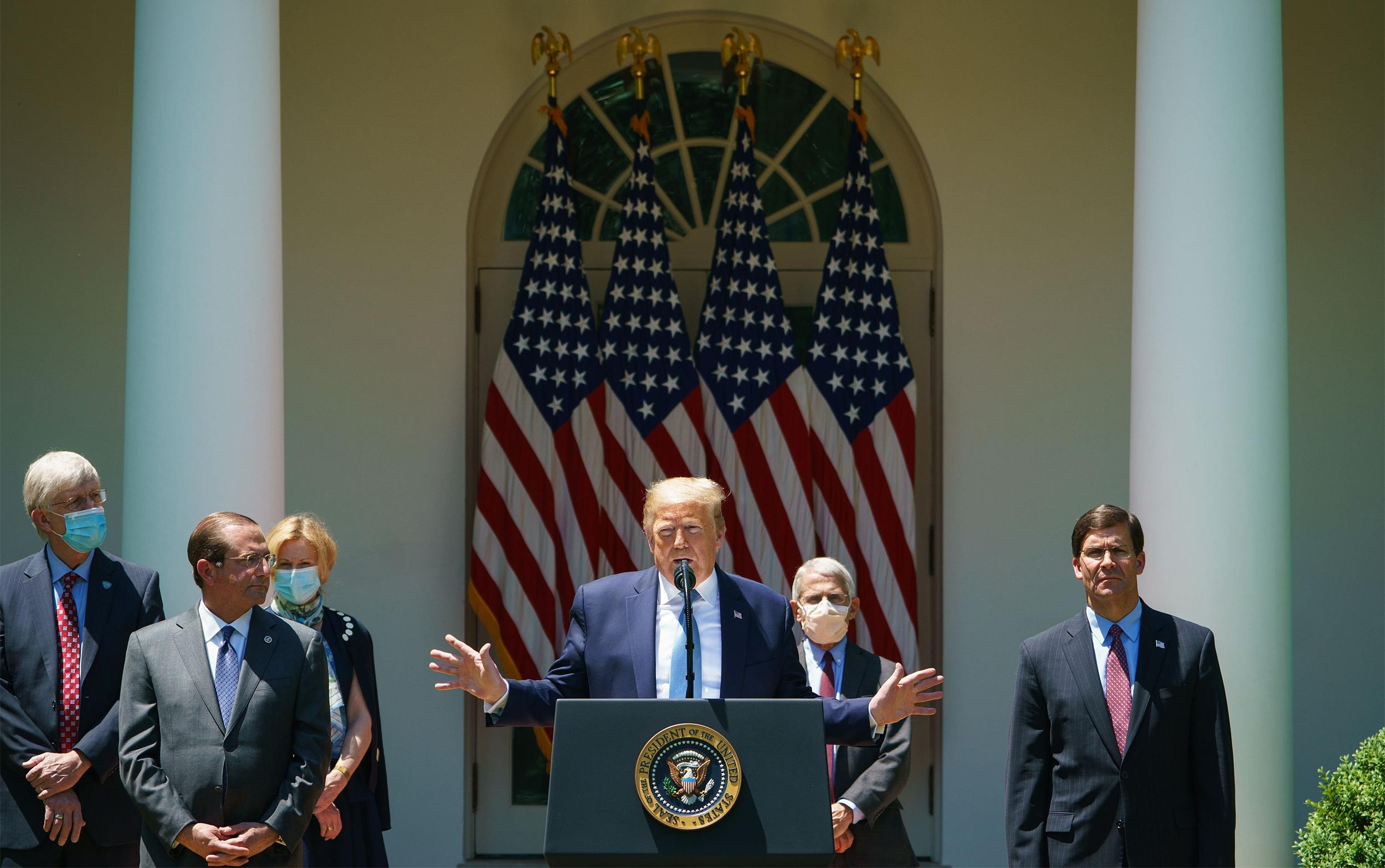 'We need to live with it': White House readies new message for the nation on coronavirus