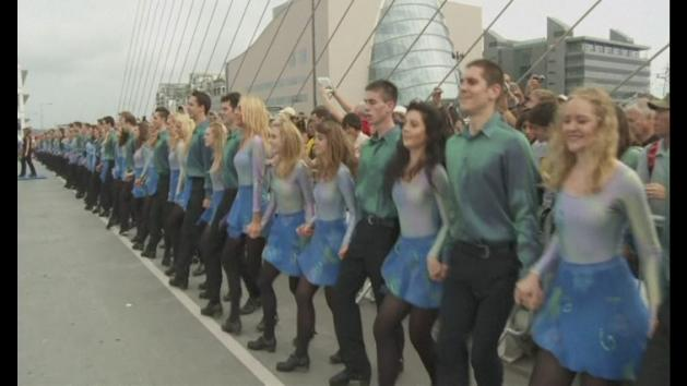 Riverdance sets new world record