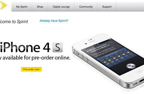 Sprint to offer three levels of iPhone service, 'yellow' AppleCare+ repairs will cost $49