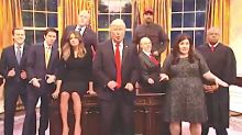 'SNL's' White House Crew Belts Out 'Don't Stop Us Now' In Scary Finale