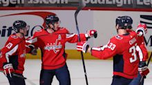 Capitals start fast, finish strong in 5-2 win over Penguins