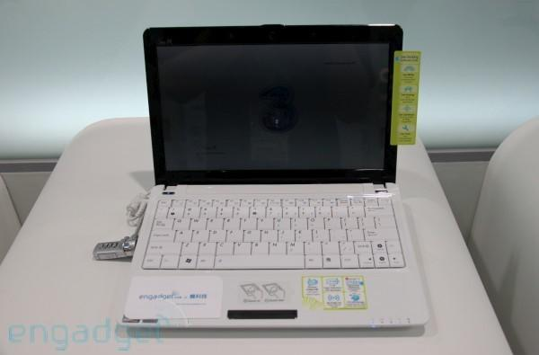 Hands-on with ASUS' Eee PC 1101HGO at Computex