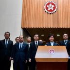 Hong Kong's Leader Offers No Solutions After Night of Violence