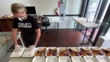 California cafe stays alive with charity lunches