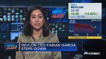 Revlon CEO Fabian Garcia steps down
