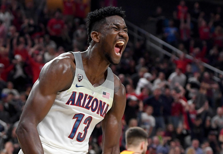 d4729995028 2018 NBA draft  Phoenix Suns use No. 1 overall pick on Arizona s Deandre  Ayton