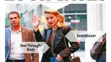 Look des Tages: Amber Heard zeigt Haut im See-Through-Body