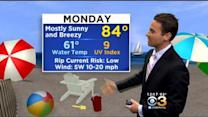 Justin Drabick's Noon Forecast: Monday, May 25, 2015
