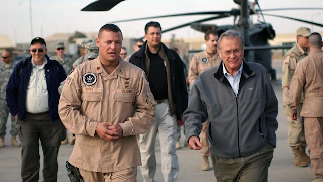 Donald Rumsfeld on Afghanistan War: 'It's not combat, as such'
