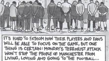 David Squires on … Manchester, a city united