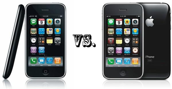 iPhone 3G vs. iPhone 3GS: the tale of the tape