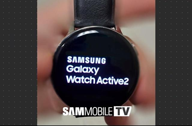 Samsung Galaxy Watch Active 2 leaks soon after the first model arrived