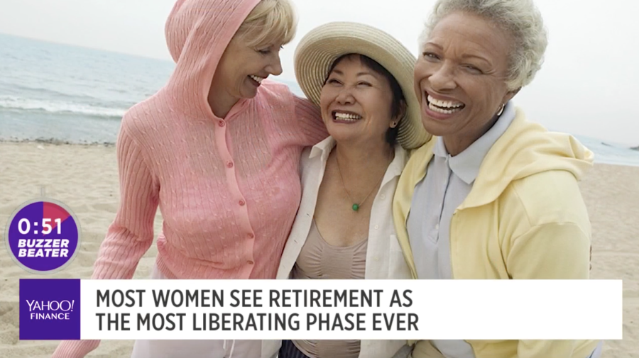 Women see retirement as the most liberating phase