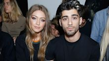 Gigi Hadid and Zayn Malik wear matching evil eye bracelets after confirming they are expecting a baby