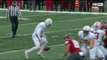 Stanford QB drops ball, picks it up, runs in for easy TD