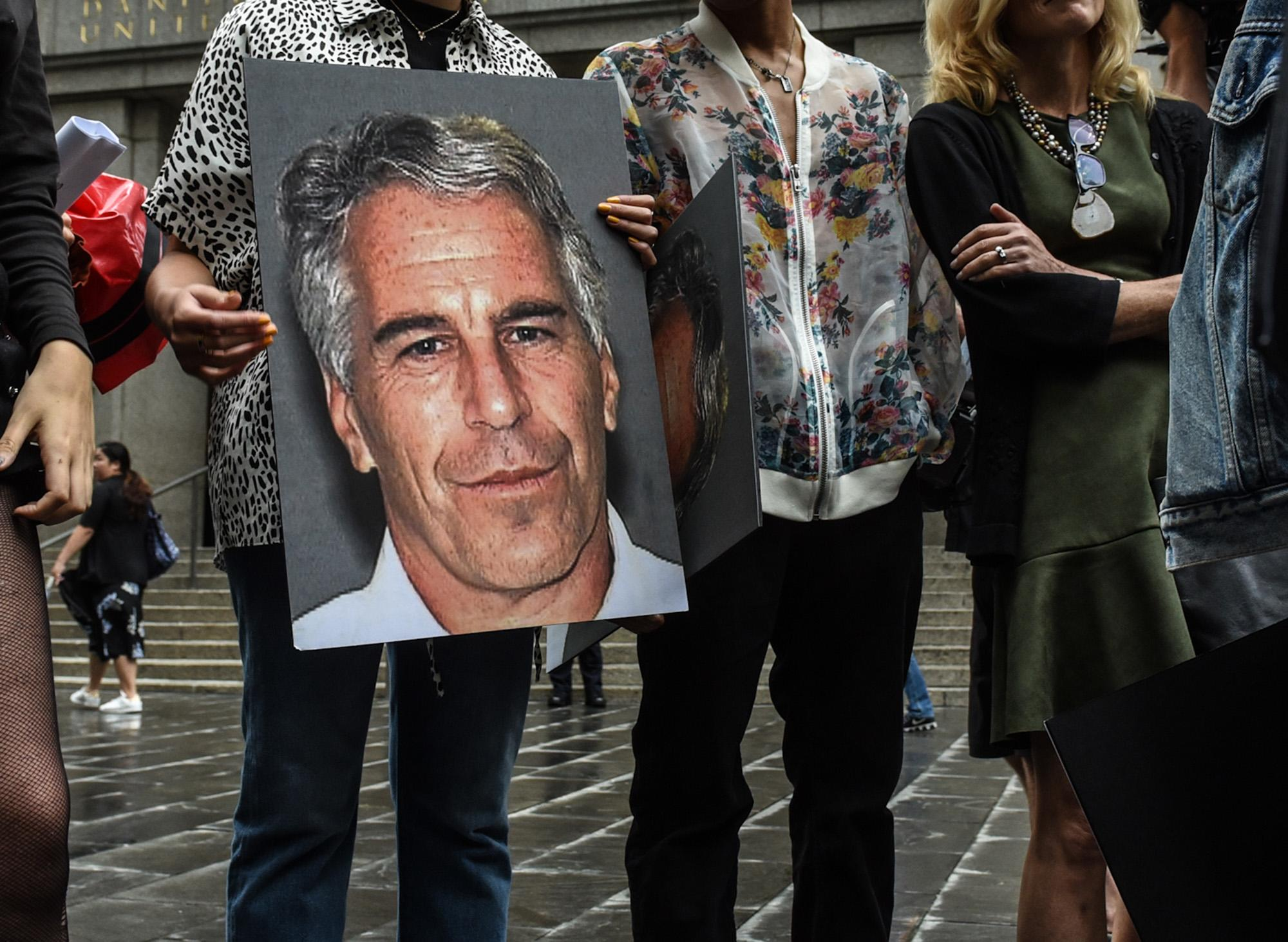 Accusers demand Epstein's death not derail investigations