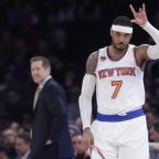Knicks expect Carmelo Anthony at training camp next week
