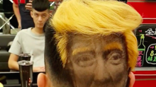 Hair Force One: Donald Trump fan pays terrifying tribute to US president with this crazy haircut