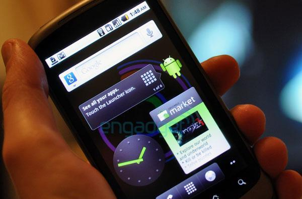 Android 2.2 Froyo manual update found, now available for select Nexus One devices