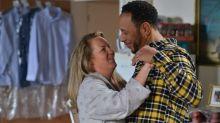 EastEnders shock for Karen after Mitch returns
