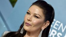 Catherine Zeta-Jones reveals her technique for perfect eyeliner