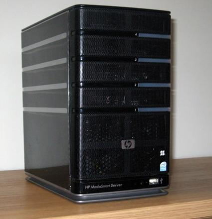 HP MediaSmart Server ex487 gets hands-on love and full-blown review