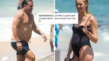 'Rumours are true': Karl Stefanovic confirms pregnancy rumours with hilarious post
