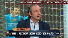 'El chiringuito' detalla el nuevo contrato surrealista de Leo Messi con el Barça