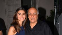 Mahesh Bhatt: Alia Bhatt is my real-life masterpiece