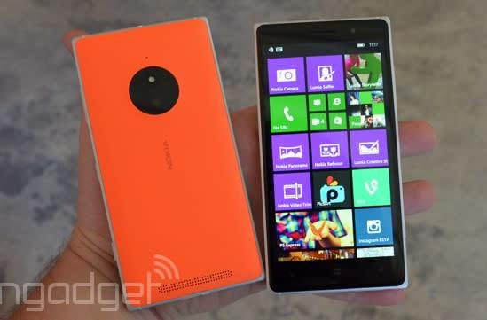 Microsoft's mid-tier Lumia 830 is coming to AT&T