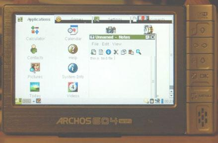 Qtopia up and running on Archos 5 series, with how-to