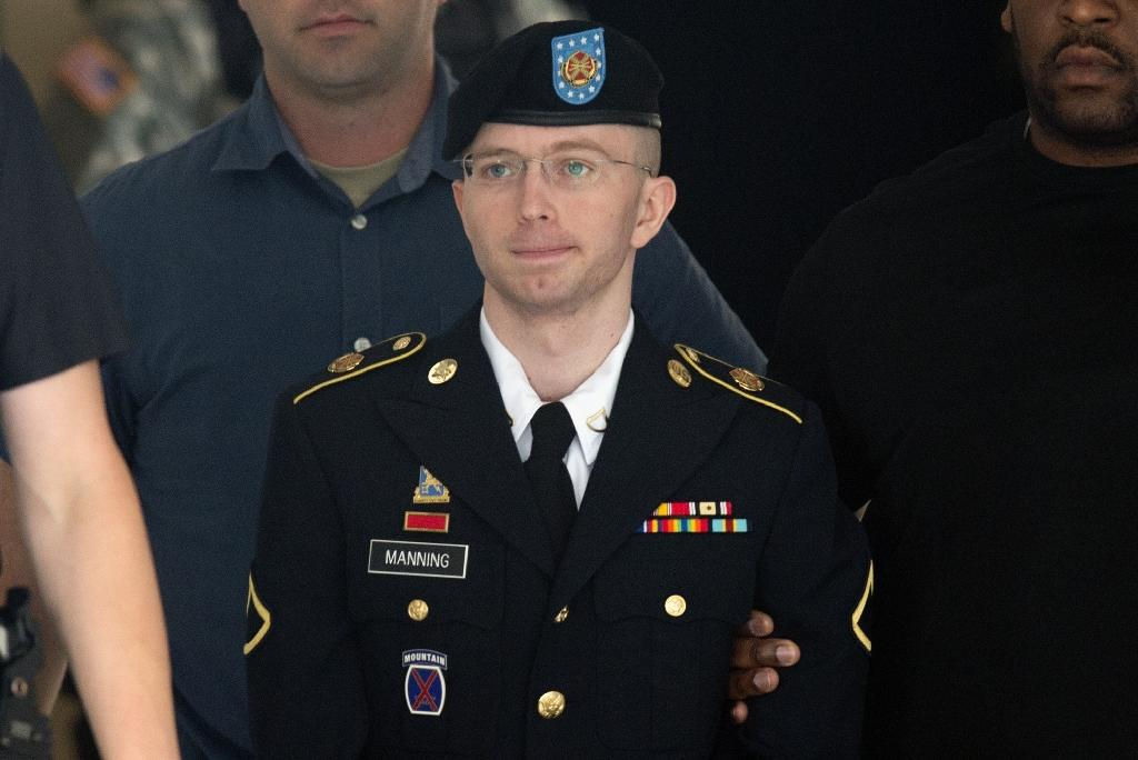 The classified US documents then Army Private Bradley Manning gave to WikiLeaks included military logs from Iraq and Afghanistan and diplomatic assessments (AFP Photo/SAUL LOEB)