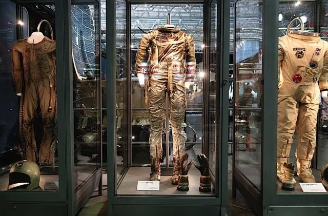 The early design history of NASA's spacesuits