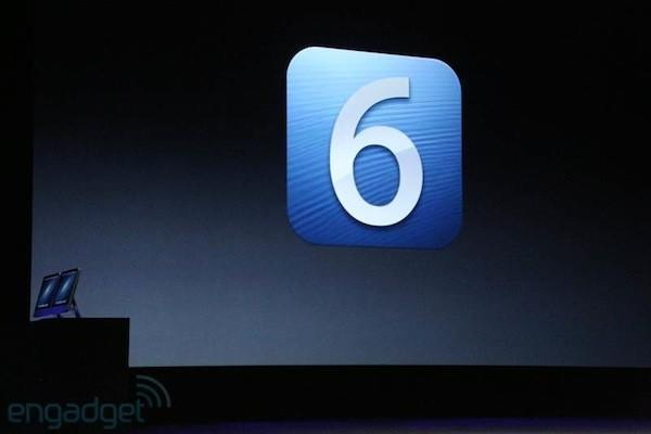 iOS 6 se viste oficialmente de largo y estará disponible el 19 de septiembre