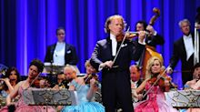 Violinist Andre Rieu: It is important audiences hope for the future
