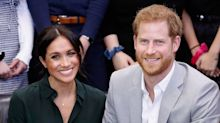 Prince Harry and Meghan Markle just shared an unseen wedding photo as their Christmas card