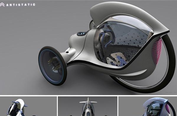 Antistatic E-3POD concept wins Citroen design award, job for its student creator