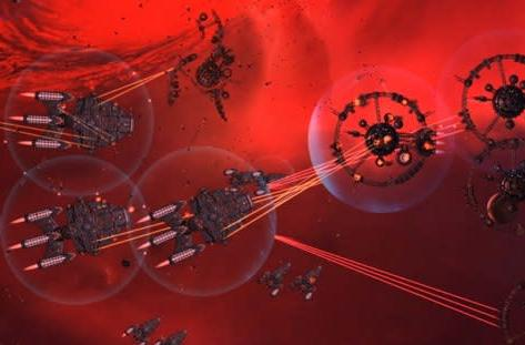 Watch one frame of Gratuitous Space Battles being rendered