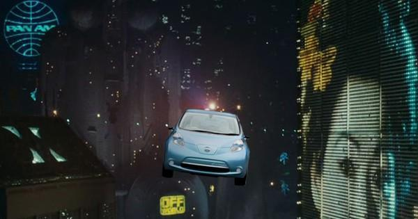 Nissan's Leaf EV will sound like a Blade Runner spinner, get better mileage