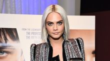 Cara Delevingne drastically dyed her hair because she will soon have to chop it all off