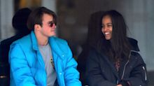 Malia Obama carries $395 bucket bag on Paris date with British beau