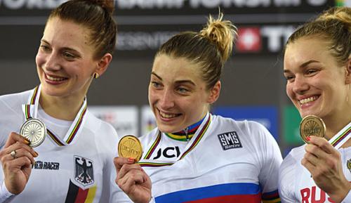 Radsport: Bahnrad-WM: Welte gewinnt Silber im 500-m-Zeitfahren